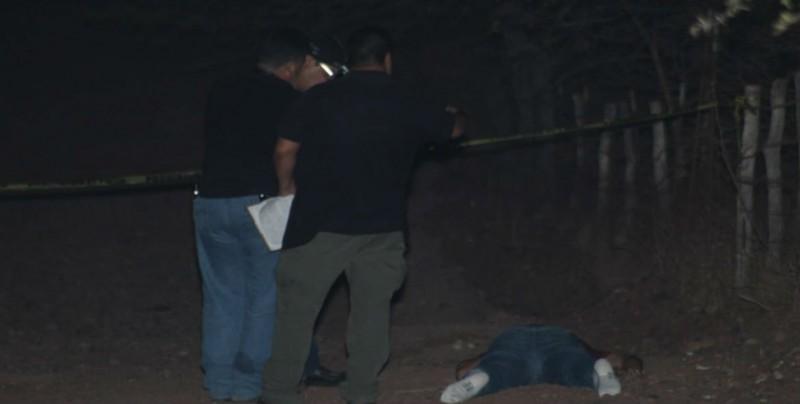Encuentran a un hombre asesinado a balazos