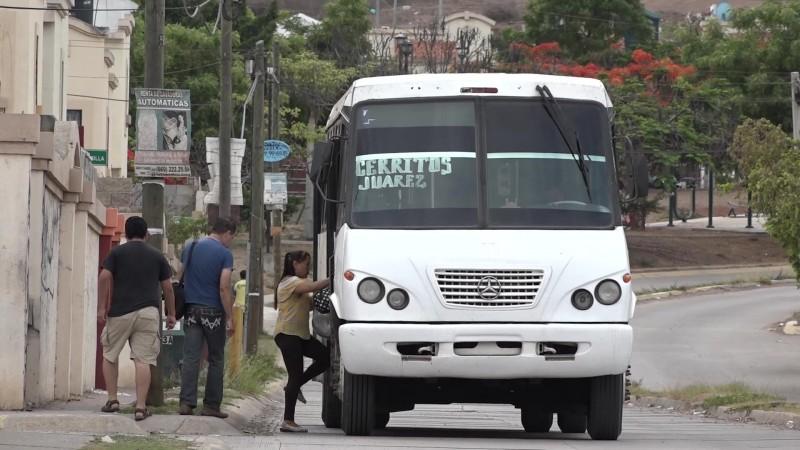 Tras muerte de mujer atropellada se quedan sin servicio de transporte