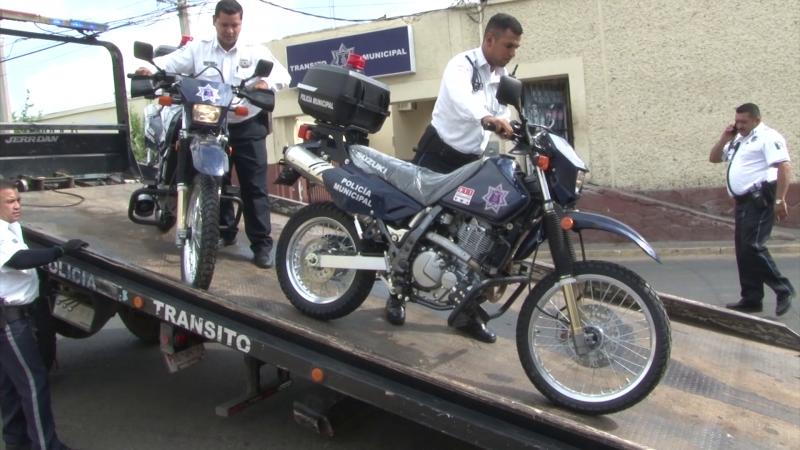 Llegan nuevas motopatrullas a Mazatlán