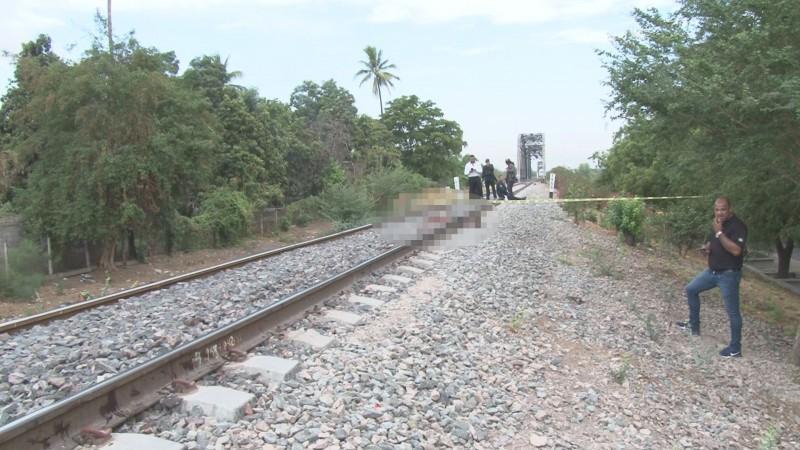 Muere hombre arrollado por el tren tras quedarse dormido