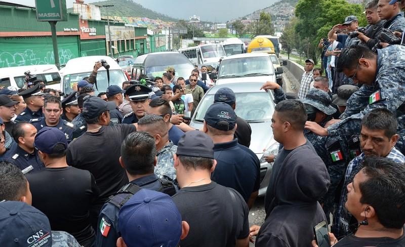 Mal informados policías federales que rechazan la Guardia Nacional