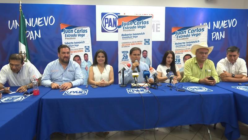 Ofrece Juan Carlos Estrada unidad en el PAN