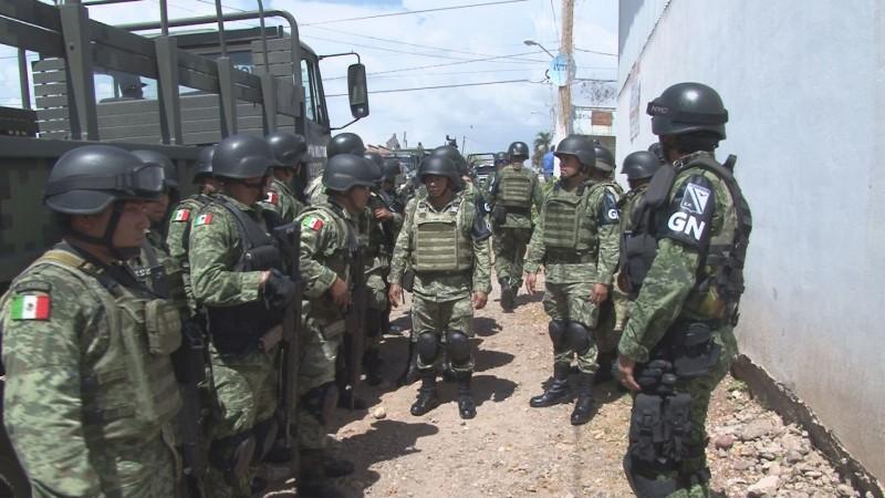 Mas de 2 mil elementos tendrá la guardia nacional en Sinaloa