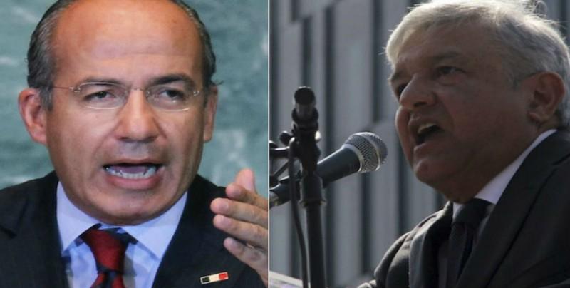 Expresidente Calderón llama a organizarse políticamente contra López Obrador
