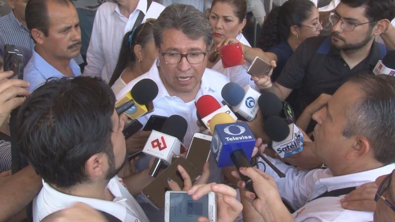 En medio de carcajadas el Senador Monreal se refirió a la propuesta de Mario Zamora