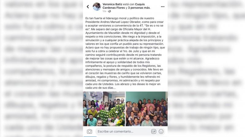 El otro temblor... pero en el Ayuntamiento de Mazatlán