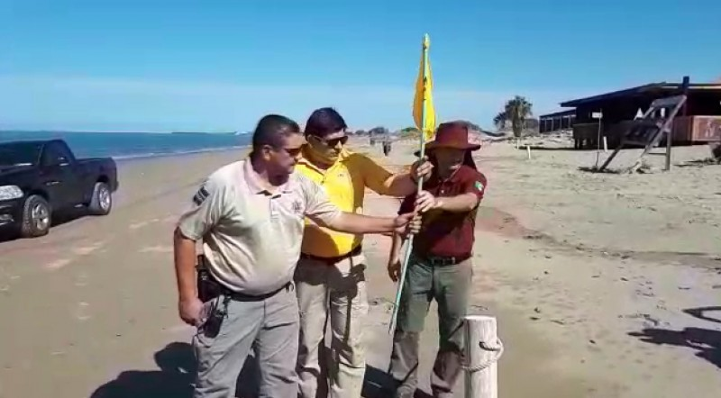 Retiran banderas de precaución en El Maviri