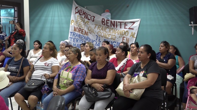 Le reclaman al Químico, vecinos de la Anáhuac en Mazatlán