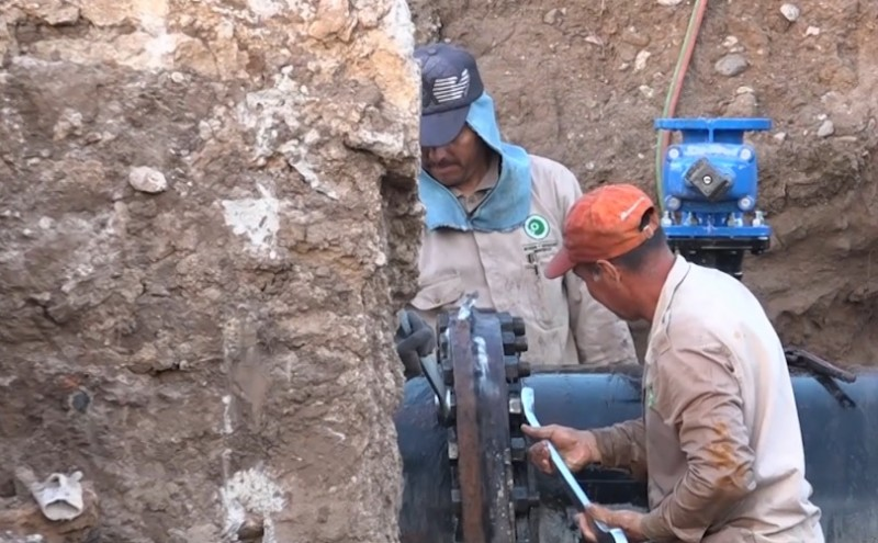 JUMAPAM atribuye desabasto de agua a fallas en reparaciones