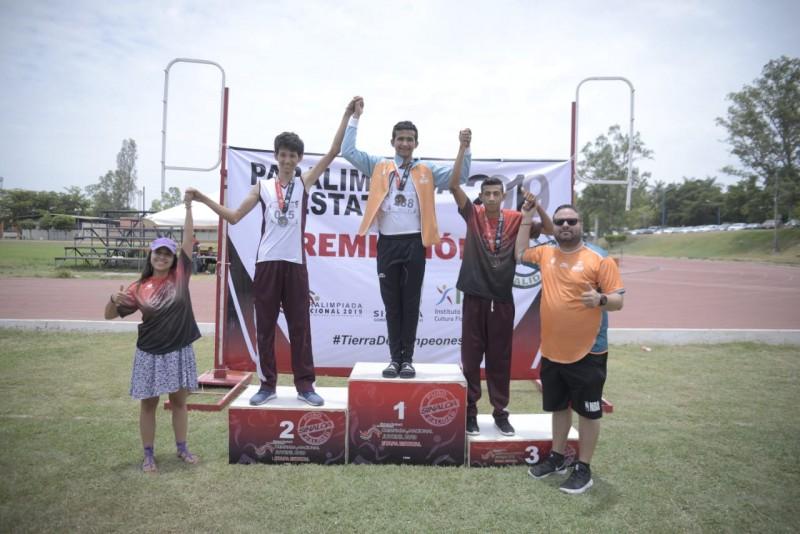 Domina Guasave la Paralimpiada Estatal 2019