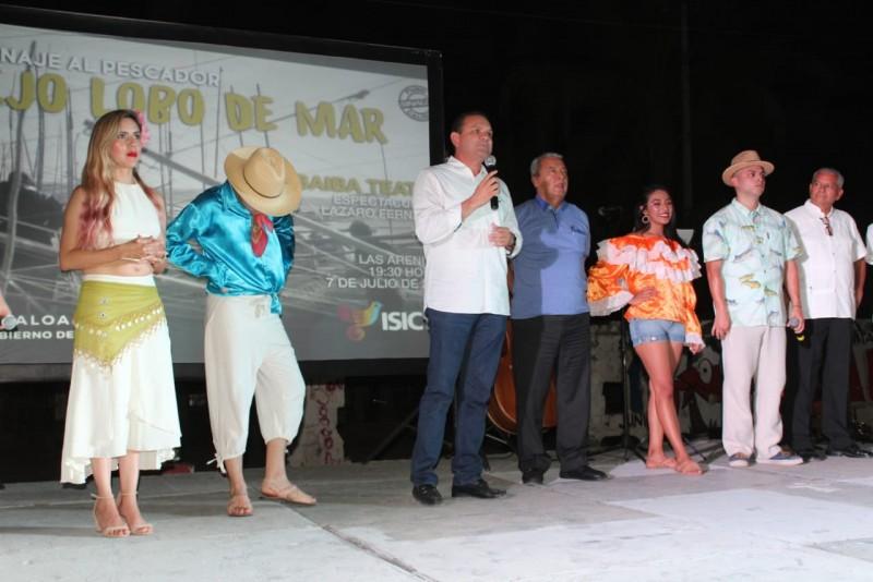 Arenitas y el Robalar disfrutan de las jornadas culturales que lleva la Secretaría de Pesca