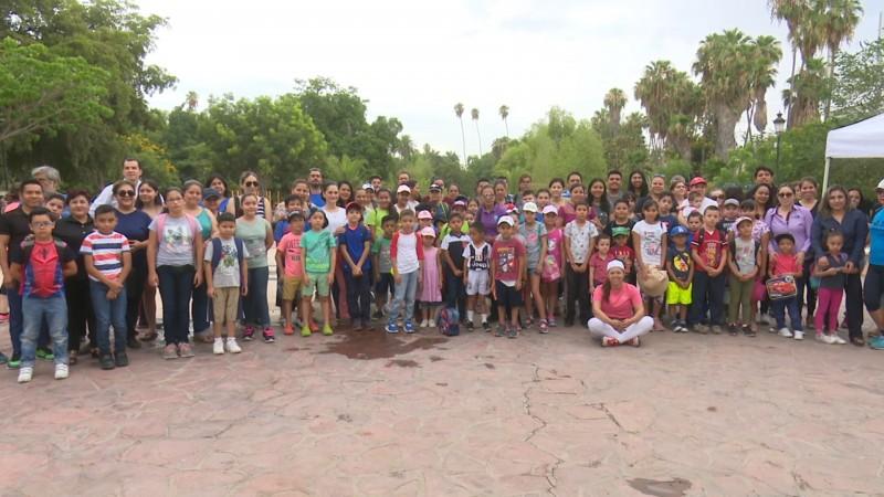 Arrancó Campamento del Parque Sinaloa