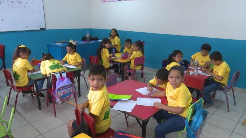 Inició Patronato Pro-Educación sus talleres de verano