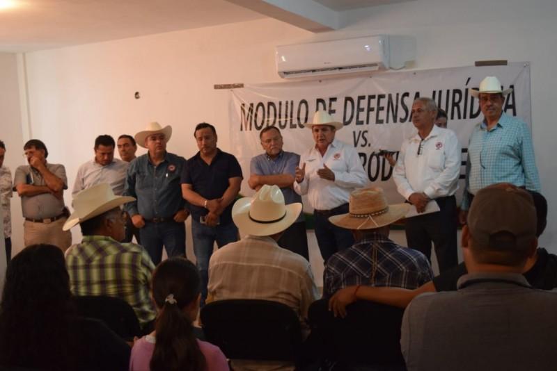 Instalan módulo de defensa jurídica en contra de abusos a productores en Guasave y Angostura