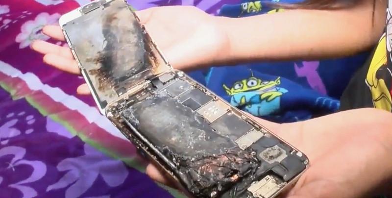 Niña de 11 años asegura que su iPhone 6 explotó mientras lo usaba