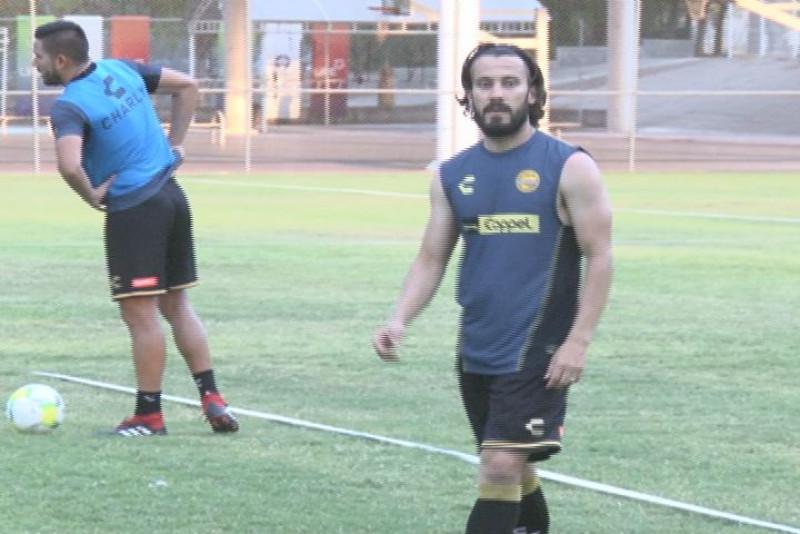 """Jose """"chepe"""" Guerrero ya entreno con Dorados"""