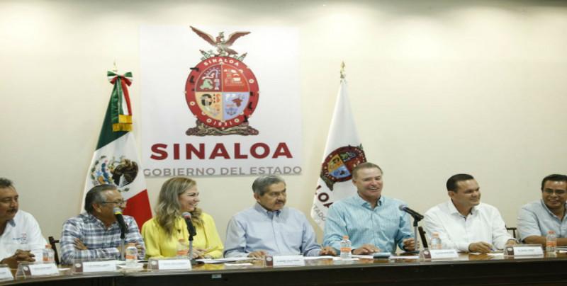 Se reúne Gobernador de Sinaloa con  productores acuícolas