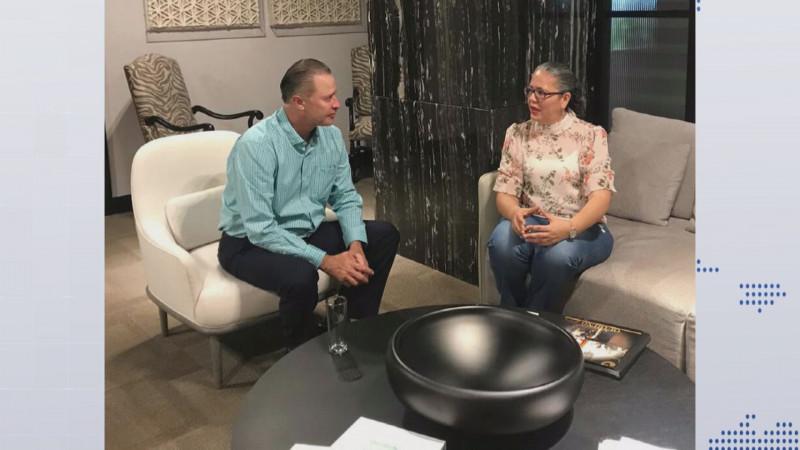 Cordial y respetuosa la reunión con el Gobernador Quirino Ordaz: Graciela Domínguez