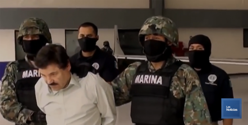 Chapo Guzmán recibió una sentencia de cadena perpetua