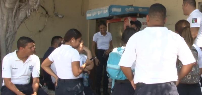 Asegura Olivo Cruz si habrá trabajo para cadetes egresados de SSPyTM