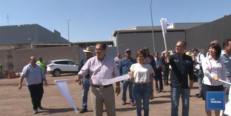 Arrancó pavimentación de calle 200 entre Jalisco y Sufragio Efectivo