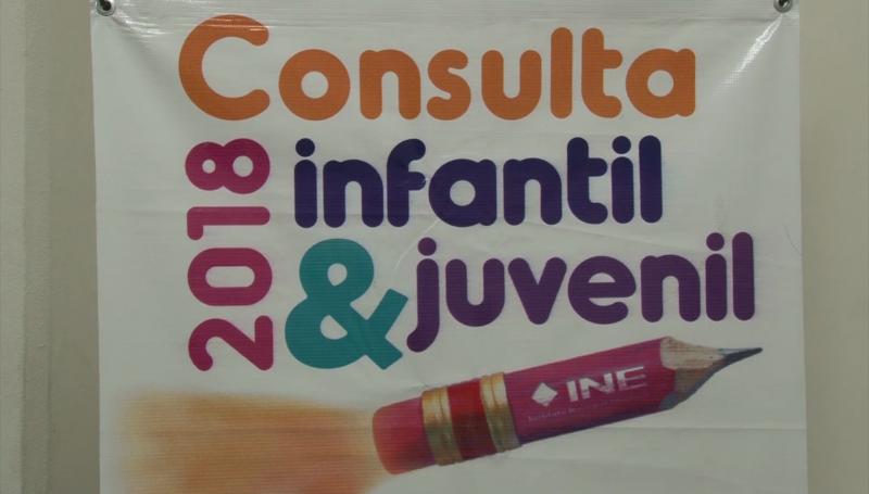 Presentan resultados de la consulta infantil y juvenil 2018