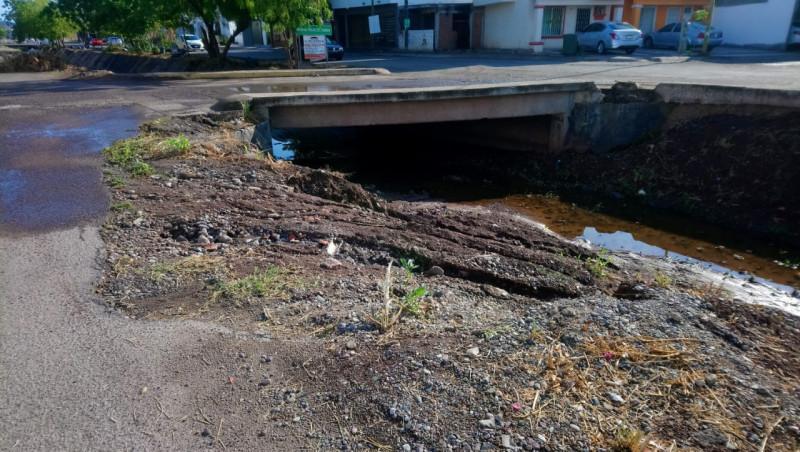 En muy malas condiciones el arroyo en Real Santa Fe 2