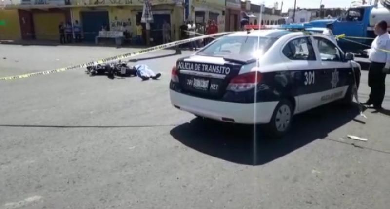 Joven motociclista pierde la vida en crucero de Mazatlán