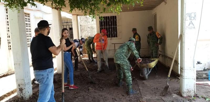 Obra sin terminar vuelve a inundar a vecinos del INFONAVIT Humaya