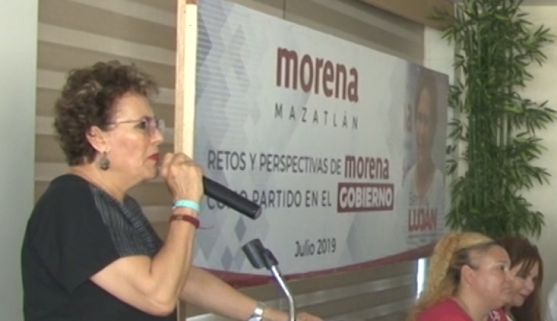 Invita Presidenta del Consejo de Morena a no caer en el retroceso