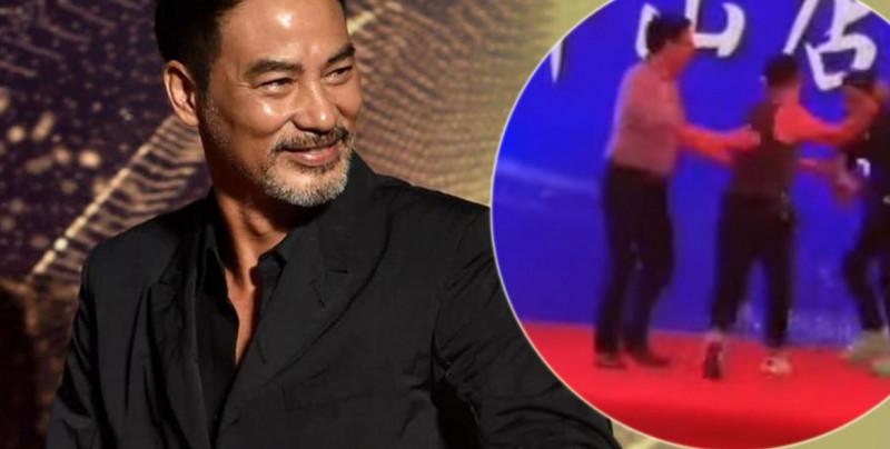 VIDEO: Apuñalan a actor durante un evento en vivo