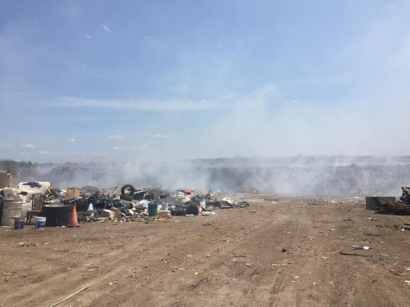 Denuncian problemas de salud por basurero clandestino en el Campo El Diez