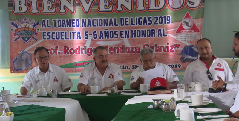 Ultiman detalles del Nacional de Beisbol 5-6 años que será en Mazatlán