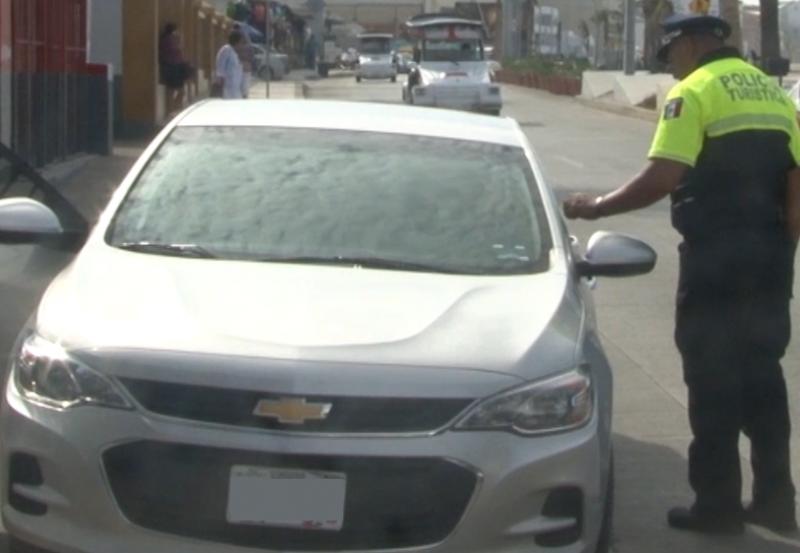 Más de 8 mil 500 multas se han levantado a turistas desde inicio de año
