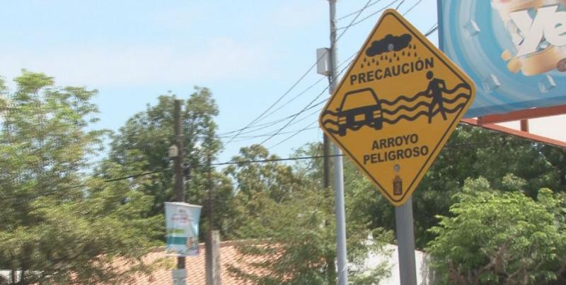 17 cruceros peligrosos, en Culiacán, son arroyos