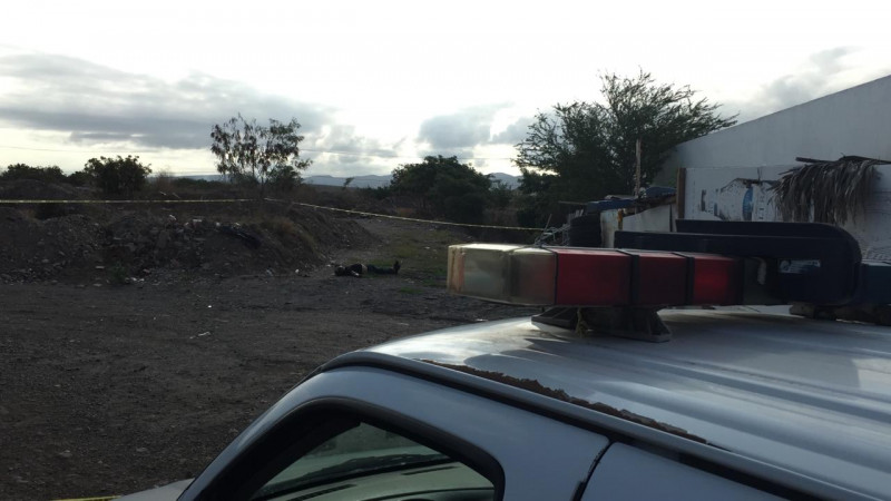 Una persona asesinada a golpes es encontrada al sur de Culiacán