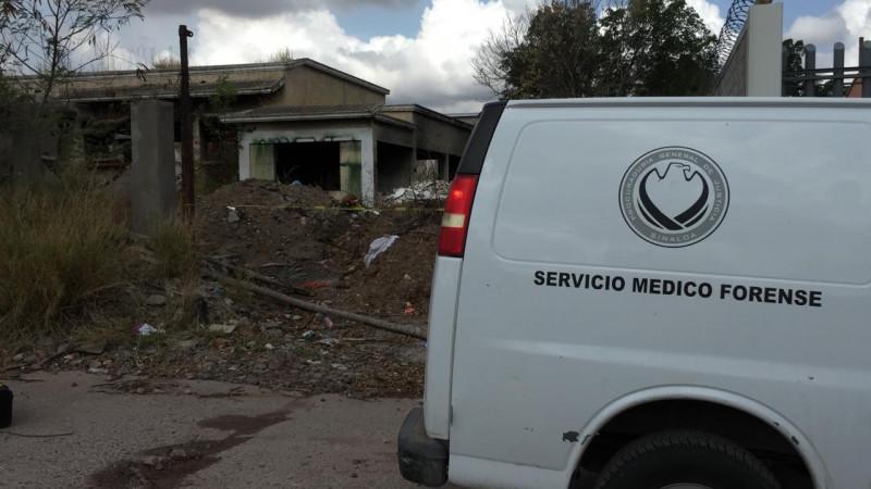 Persona asesinada es encontrada al interior de una vivienda abandonada