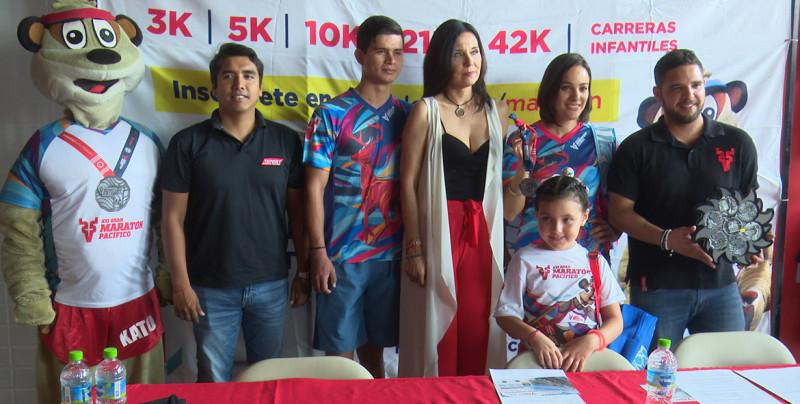 Presentan Medalla del Maratón Pacífico Mazatlán 2019