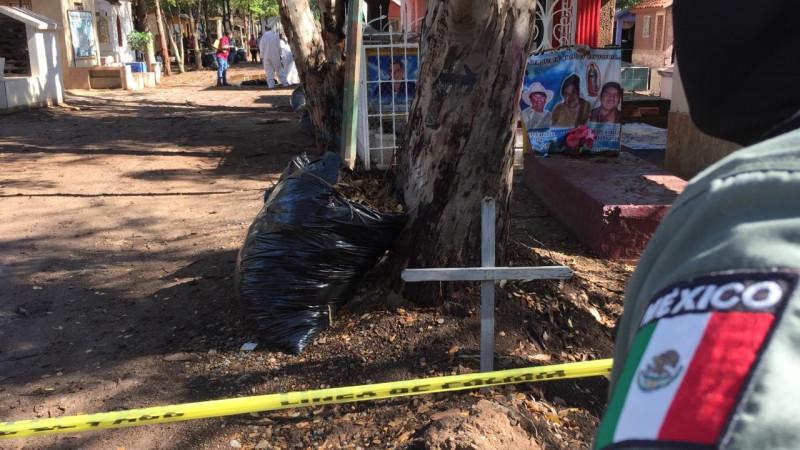 Encuentran a mujer asesinada en Panteón de Culiacán