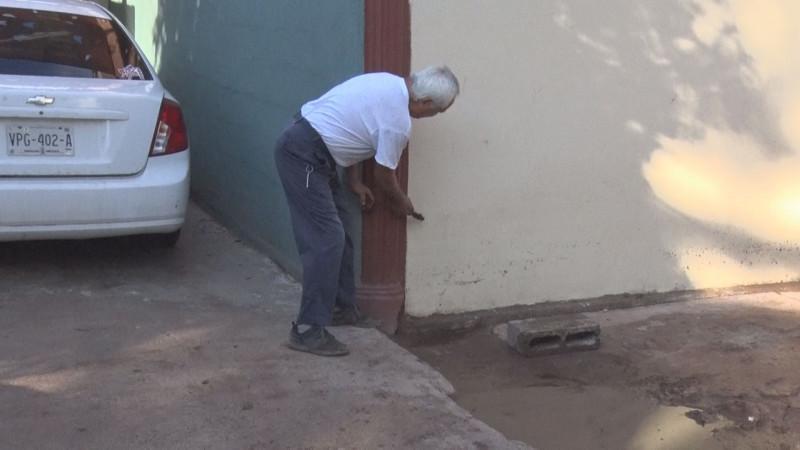 Vuelve el agua al Arroyo Agustina Ramírez