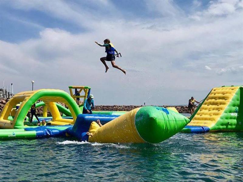 En pie, el primer parque acuático flotante para Mazatlán