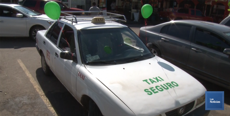 Entró en operación el programa Taxi Seguro en la Central Camionera