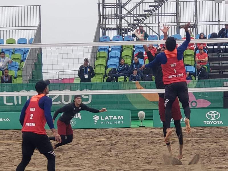 México gana primer encuentro en Voli de Playa en Los Panamericanos de Lima 2019