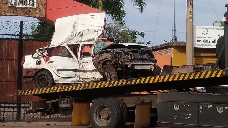 Fallece automovilista tras impactarse con palmera en Culiacancito