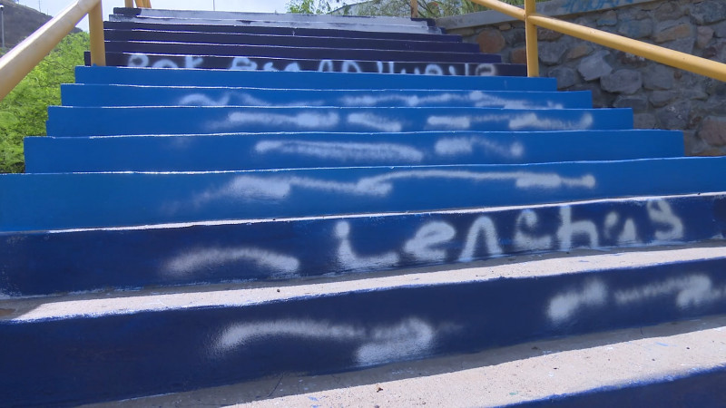 Lamenta IMAC vandalismo en el Cerro