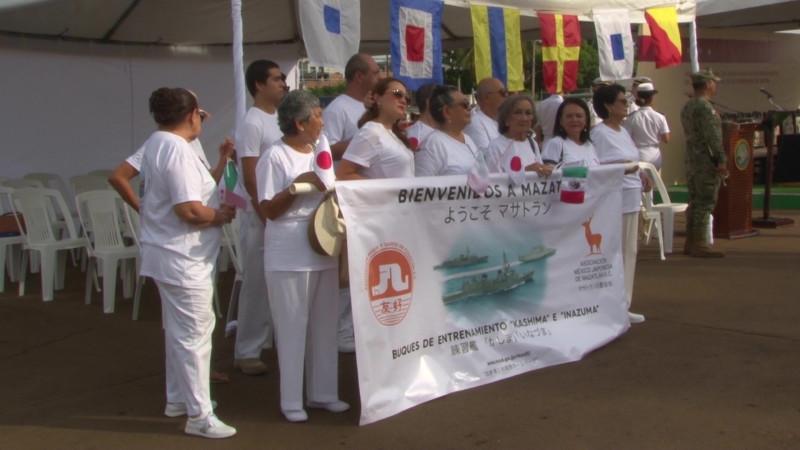 Califican como 'memorable' llegada de embarcaciones japonesas a Mazatlán