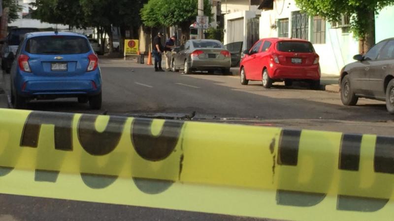 Balacera en el centro de  Culiacán deja un muerto y una persona herida