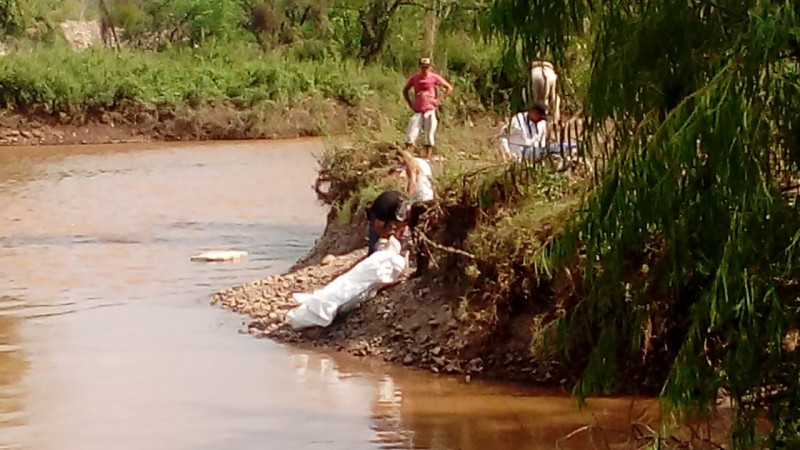 Encuentran cuerpo flotando en el río Humaya
