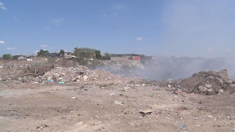 Levantan acta por falta de permisos en basurero del Campo El Diez
