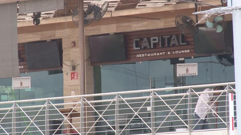 Fueron aseguradas dos armas durante operativo en el bar Capital
